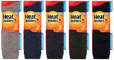 Heat Holders - Herren extra lang winter warm wolle wollsocken für gummistiefel
