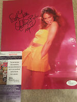 CATHERINE BACH SIGNED 8 X10 DUKES OF HAZZARD PICTURE DAISY JSA COA PINK