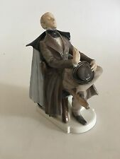 "Royal Copenhagen Figurine No. 1848 of Hans Christian Andersen's ""The Shadow"""