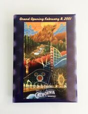 Disney DCA California Adventure February 8, 2001 Grand Opening Day Button