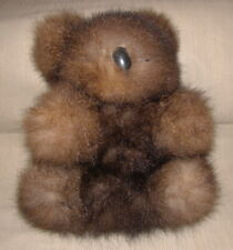 "Real Kangaroo Fur Koala Bear from Australian 8"" Tall"