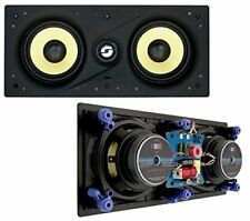"""Compact Audio Fidelity W5 LCR Dual 5.25"""" 80W RMS In-Wall Centre Speaker"""