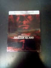 Shutter Island 10th Anniversary Limited Edition Steelbook (4K + Blu-ray) New