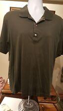 Bobby Jones Green Golf Shirt Large