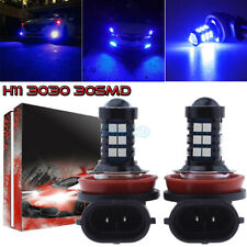 2Pcs H11 H8 H9 H16 3030 30Smd Chip Led Fog Light Conversion Kit Premium 10K Blue