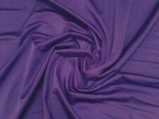 Purple Lycra / spandex STRETCH Danza / abito / Sport Tessuto 150cm Ampio venduti dall' M