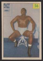 1955 Parkhurst Wrestling #56 Bearcat Wright