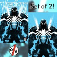 🚨🔥🕸 VENOM #29 TYLER KIRKHAM SET OF 2 Exclusive Variant Agent Venom Variant NM