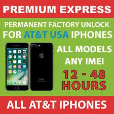 AT&T PREMIUM FACTORY UNLOCK SERVICE - iPhone 7 Plus 7+ 6s+ 6s SE 6 ALL IMEI 100%