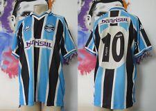 Vintage Gremio 2001 home shirt Kappa soccer jersey #10 Marcelinho size L camisa