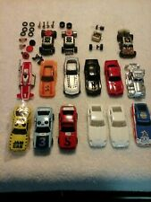 tyco tcr 12 bodies & chassis parts some new unfinished lot#98