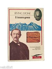 Romanzo : Irving Stone IL TESORO GRECO Corbaccio 1993