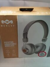 Bluetooth Wireless Headphones House of Marley Positive Vibration 2 on Ear White