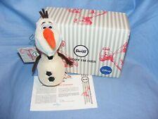 Steiff Olaf Disney Frozen Ornament Limited Edition 355141 Brand New 2019