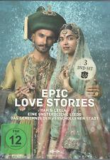 EPIC LOVE STORIES 3-DVD Bollywood Filmset: Mohenjo Daro, Bajirao Mastani u. m