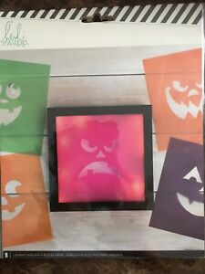 Heidi Swapp 8 Halloween Luminary Paper Pad - NEW!!
