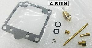 4x Suzuki 80-81 GS1000 Carburetor Carb Rebuild Kit - 4 KITS