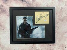 Arnold Schwarzenegger Signed Cut Jsa Auto Custom Framed
