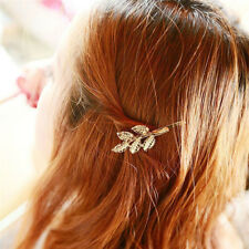 Women's Vintage  Leaf Hair Clip Pin Claw Leaves Hairpin Barrette Accessories CB