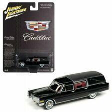 JOHNNY LIGHTNING JLSP089 1966 CADILLAC HEARSE 1/64 DIECAST MODEL CAR BLACK