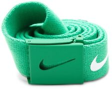 NIKE WEB Tech Essentials Golf Belt - Stadium Green