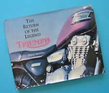 1905-95 Triumph Trophy Speed Twin Tiger Thunderbird Motorcycle Book History