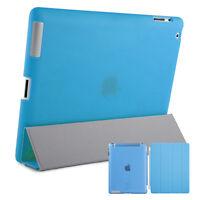 Smart Schutz Hülle iPad 2 3 4 Case Cover Aufstellbar Ständer Schale Etui Blau