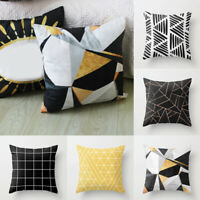 1Pc Sofa Geometry Printing Pillow case Throw Office Cushion Cover Home Creative