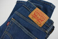 LEVI STRAUSS & CO. 511 Men's W31/L30 Skinny Tapered Stretchy Blue Jeans 30494-GS