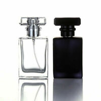 30 ML Mini Empty Glass Bottle Spray Perfume Cologne Refillable Travel Organizer