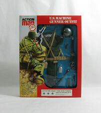 NEW 1981-84 Action Man ✧ U.S. Machine Gunner ✧ Vintage G.I Joe Outfit MOC