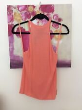 Primark Coral Fine Knit Cami Top, Size UK 12 New
