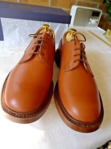 Tricker's Kendal Men's Shoes Tan – BNIB – UK 10.5 6 (Wide) – Leather Soles