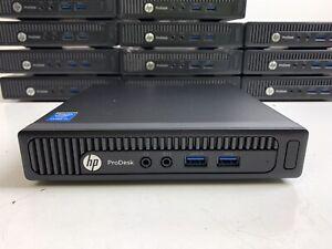 HP ProDesk 600 G1 DM Mini | CORE i3-4160T @ 3.10GHz | 4GB RAM | NO HDD | #G31