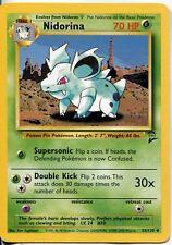 Pokemon Base Set 2 Uncommon Card #53/130 Nidorina