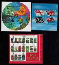 COMPLETE YEAR SET  2001  MINIATURE SHEETS  MS2201  MS2206  MS2215    MNH
