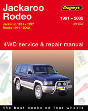 Holden Rodeo TF Petrol 2WD & 4WD 1991-2002 Workshop Manual with MPN GAP05532