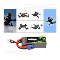 OVONIC 1300mAh 11.1V 3S 50C Lipo Battery W/ EC3 Plug For RC Drone Car Heli Hobby
