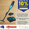 Makita Cordless Vacuum Cleaner Rechargeable Handheld 18V Li-Ion Battery Charger