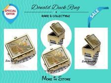 Unique Disney Couture Dr X Romanelli DONALD DUCK Lunch Box Chest Stretch Ring