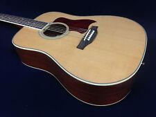 Full Size Klema K1D Acoustic Guitar, Natural+Free Gig Bag,Extra String Set,Picks