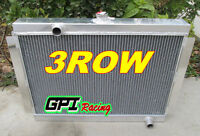 Aluminum Radiator For Nissan Datsun 280Z 280ZX Fairlady L6 1975-1983 MT 3 row