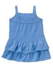 NWT~Gymboree GREEK ISLE STYLE blue tiered sleeveless sweater dress~12-18
