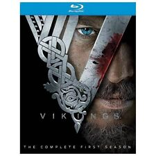 DVD: Vikings: Season 1 [Blu-ray], Johan Renck, Ken Girotti, Ciaran. Very Good Co