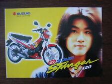 Suzuki Stinger 120 (RU120C, MC, SC), Thailand, 8.1997