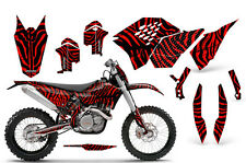 KTM GRAPHICS KIT SX SXF 07-10, EXC XCF 08-10-11, XCW 08-10-11 DECALS ZCRNP