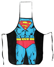 Superman Apron DC Comics Superhero Costume Cooking Kitchen