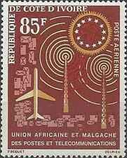 Timbre Communications Cote d'Ivoire PA29 ** lot 21976