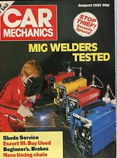 Car Mechanics Magazine: August 1985: Security Special