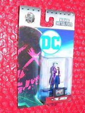 THE JOKER  DC 6 NANO METALFIGS die cast mini figure  on Suicide Squad card